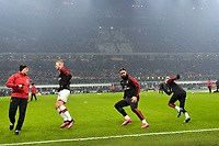 Zlatan Ibrahimovic of AC Milan warms up <br /> Milano 09/02/2020 Stadio San Siro <br /> Football Serie A 2019/2020 <br /> FC Internazionale - AC Milan <br /> Photo Andrea Staccioli / Insidefoto