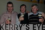 St Senan's NYE Party: Enjoying the NYE party held at St Senan's Clubhouse, Mountcoal, Listowel  were  Aiden Behan, Michael Behan & Billy Dillon