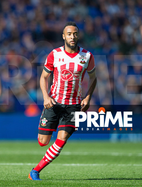 Nathan Redmond of Southampton during the Premier League match between Leicester City and Southampton at the King Power Stadium, Leicester, England on 2 October 2016. Photo by Andy Rowland.