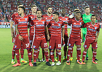 Frisco, TX. - September 13, 2016: The New England Revolution take a 1-0 lead over FC Dallas in the 2016 U.S. Open Cup Final at Toyota Stadium.