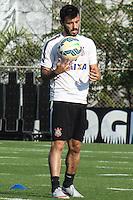 SÃO PAULO, SP, 07.10.2015 - FUTEBOL-CORINTHIANS - Uendel jogador do Corinthians durante sessão de treinamento no Centro de Treinamento Joaquim Grava na região leste de São Paulo nesta quarta-feira, 07.(Foto: Marcos Moraes / Brazil Photo Press)