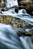 Upper Spivey Falls in spring flow