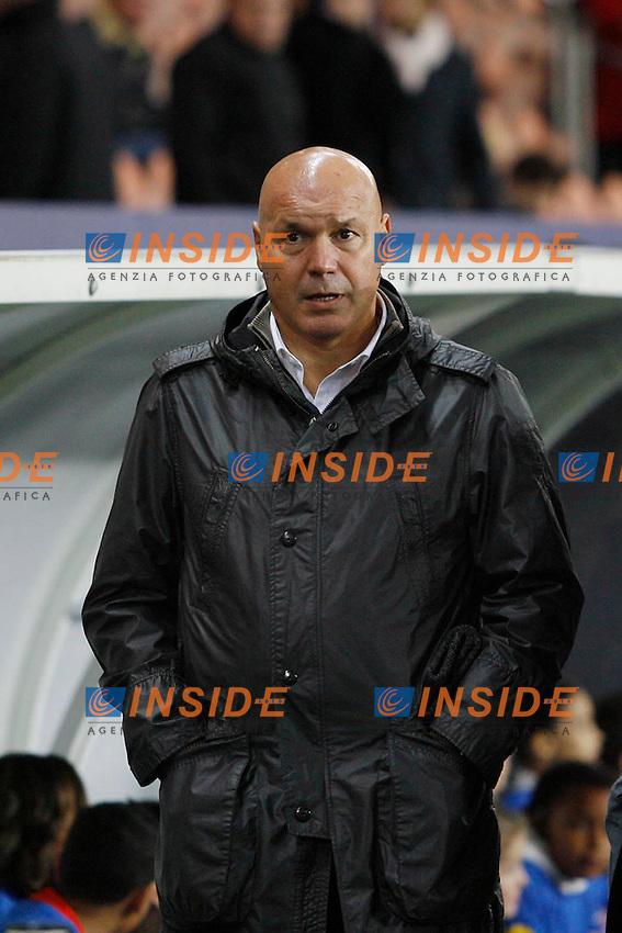 06-09-2013 L'allenatore del Marsiglia Jose Anigo, il cui figlio e' stato assassinato con vari colpi di pistola in strada.<br /> Photo Gwendoline Le Goff / Panoramic / Insidefoto<br /> ITALY ONLY