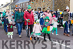 Kids from Danu daycare marching at the Rathmore St Patricks parade on Sunday