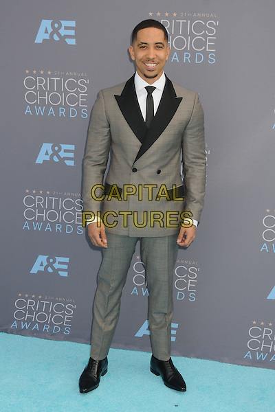 17 January 2016 - Santa Monica, California - Neil Brown Jr.. 21st Annual Critics' Choice Awards - Arrivals held at Barker Hangar. <br /> CAP/ADM/BP<br /> &copy;BP/ADM/Capital Pictures