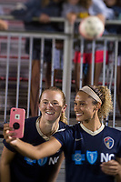 Boyds, MD - August 30, 2017: The North Carolina Courage defeated the Washington Spirit 3-2 during a National Women's Soccer League (NWSL) match at the Maryland SoccerPlex