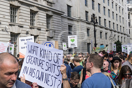 Climate Change demonstration, London, 21st September 2014. © Sue Cunningham