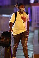 WASHINGTON, D.C. - JULY 30: Vladimir Guerrero Jr. of Major League Baseball's Toronto Blue Jays seen exiting Nationals Park after a 6-4 loss against the Washington Nationals during the COVID-19-shortened season in Washington D.C. on July 30, 2020. Credit: mpi34/MediaPunch