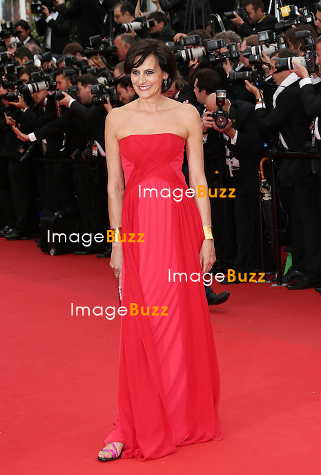 CPE/Ines De La Fressage attends the 'Jeune & Jolie' premiere during The 66th Annual Cannes Film Festival at the Palais des Festivals on May 16, 2013 in Cannes, France.