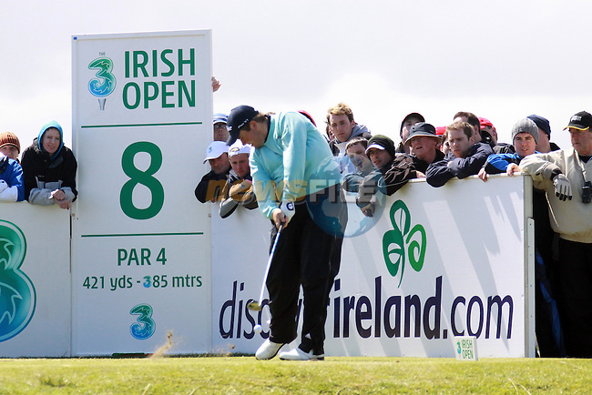 Shane Lowry in the final round of the Irish Open on 17th of May 2009 at Baltray, Co. Louth, Ireland. (Photo by Manus O'Reilly/GOLFFILE)