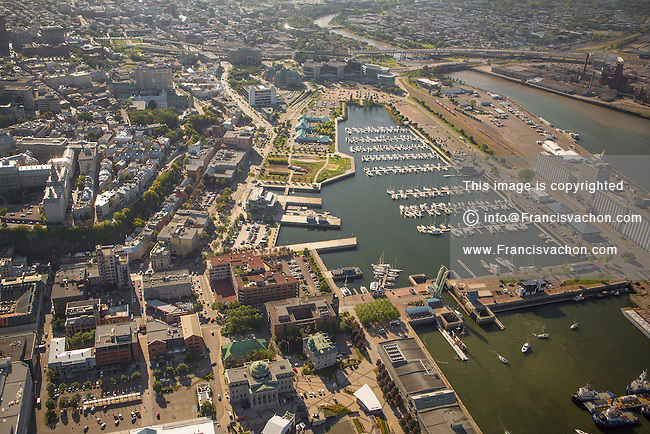 The Vieux-Quebec (old-town district) is pictured in this aerial photo in Quebec city Thursday September 3, 2015.