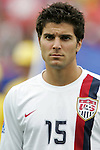 14 July 2007: United States' Sal Zizzo. Austria's Under-20 Men's National Team defeated the Under-20 Men's National Team of the United States 2-1 after extra time in a  quarterfinal match at the National Soccer Stadium (also known as BMO Field) in Toronto, Ontario, Canada during the FIFA U-20 World Cup Canada 2007 tournament..