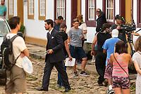 Tiradentes, MG, 07.01.2019 - CELEBRIDADE<br /> Jo&atilde;o Vicente de Castro, ator da Globo durante grava&ccedil;&otilde;es da novela &ldquo;Espelho da Vida&rdquo; no Centro Hist&oacute;rico da cidade de Tiradentes em Minas Gerais nesta segunda-feira, 07. (Foto: Anderson Lira/Brazil Photo Press)