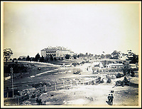 BNPS.co.uk (01202 558833)<br /> Pic: Nosb&uuml;sch&amp;Stucke/BNPS<br /> <br /> Katoomba, New South Wales.<br /> <br /> A stunning collection of photographs of Sydney decades before the iconic harbour bridge and opera house were built has been unearthed after 129 years.<br /> <br /> The black and white photo album captures the bustling city centre, picturesque main harbour and famous beaches of the future tourist hot-spot. <br /> <br /> The photos were taken by celebrated Australian photographer Henry King in 1888 who was born in England but emigrated to Australia at a young age and spent the rest of his life there.<br /> <br /> More recently they have fallen into the hands of a German collector who has decided to put them on the market and they are tipped to sell for &pound;1,800.<br /> <br /> Many of Sydney's most recognisable landmarks including Manly beach and Coogee bay look very different to what backpackers would encounter today.<br /> <br /> King also took various photos of Circular Quay - the city's main harbour - but missing from them are images of the Sydney Harbour Bridge and Sydney Opera House as these landmarks were both not built until well into the 20th century.