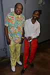 MIAMI, FL - MAY 29: John Witherspoon and Lil Duval backstage at the 9th Annual Memorial Weekend Comedy Festival at James L Knight Center on May 29, 2016 in Miami, Florida. ( Photo by Johnny Louis / jlnphotography.com )