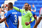 11.08.2018, Wirsol-Rhein-Neckar-Arena, Sinsheim, GER, Testspiel, TSG 1899 Hoffenheim vs SD Eibar, <br /> <br /> DFL REGULATIONS PROHIBIT ANY USE OF PHOTOGRAPHS AS IMAGE SEQUENCES AND/OR QUASI-VIDEO.<br /> <br /> im Bild: Oliver Baumann (TSG Hoffenheim #1)<br /> <br /> Foto &copy; nordphoto / Fabisch