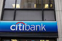 A Citibank branch is pictured in the New York City borough of Manhattan, NY, Monday May 12, 2014. Citibank, a major international bank, is the consumer banking arm of financial services giant Citigroup.