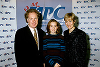 Montreal (Qc) CANADA -dec 1996- Jean Charest,leader of the federal Progressive Conservative Party of Canada (1993-1998) <br /> and family