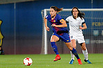 Spanish Women's Football League Iberdrola 2017/18 - Game: 9.<br /> FC Barcelona vs Madrid CFF: 7-0.<br /> Vicky Losada vs Saray Garcia.