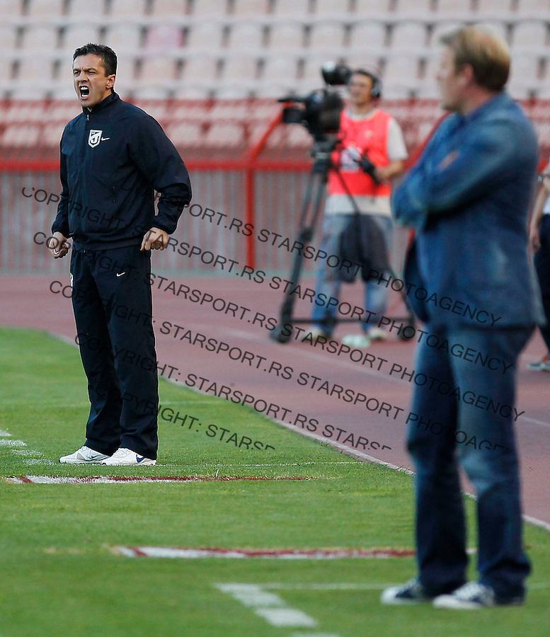 Fudbal, Jelen super liga, sezona 2011/12.Crvena Zvezda Vs. Jagodina.Head coach Simo Krunic.Belgrade, 28.04.2012..foto: Srdjan Stevanovic/Starsportphoto ©