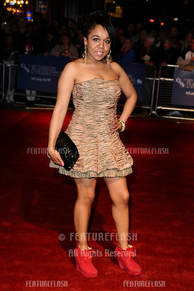 """Nolay arrives for the premiere of """"Sket"""", as part of the London Film Festival 2011, at the Vue West End, London. 22/10/2011 Picture by: Steve Vas / Featureflash"""