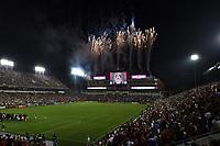 Atlanta, Georgia - July 4, 2017: Atlanta United defeated the San Jose Earthquakes 4-2 in a Major League Soccer (MLS) game at Bobby Dodd Stadium.