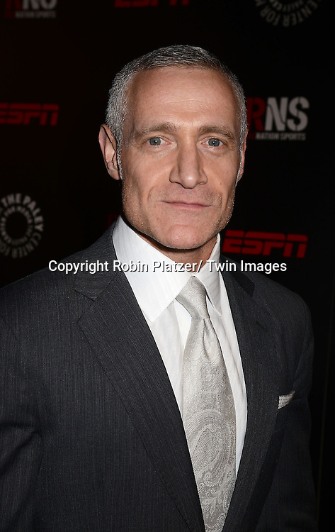 Michael R Yormark, President of ROC Nation, attends The Paley Center for Media's Annual Benefit Dinner honoring ESPN' s 35th Anniversary on May 28, 2014 at 583 Park Avenue in New York City, NY, USA.