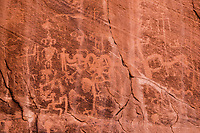 Ancestral Puebloan petroglyphs, Ancient rock art, Souhtern Utah  Proposed Wilderness, Park