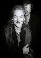 Meryl Streep and husband Don Gummer Undated<br /> Photo By John Barrett/PHOTOlink