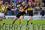 Andrew Kenneally Dr Crokes vPaul McKeown Crossmaglen Rangers in the All Ireland Club Senior Football Championship Semi-Final, at O'Moore Park, Portlaoise on Saturday 18/2/2012