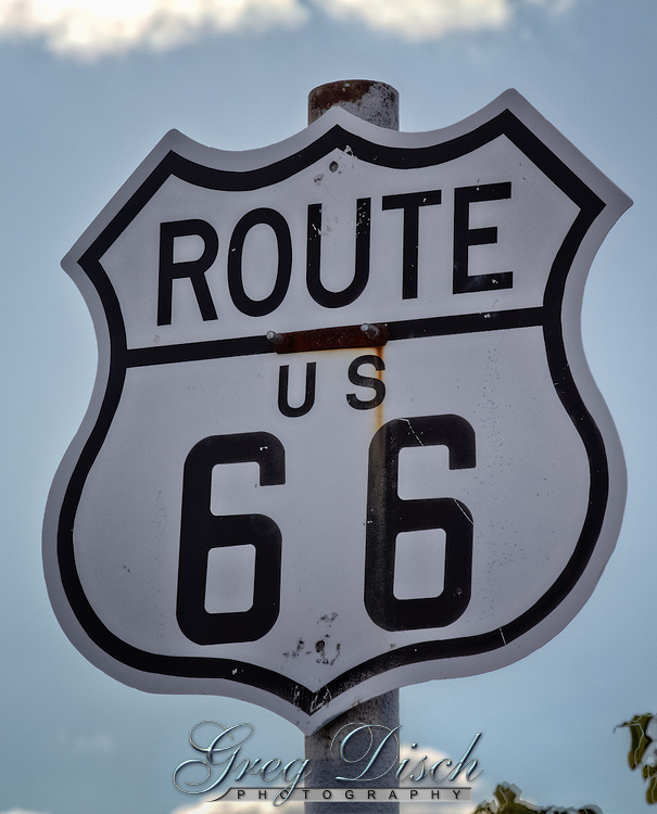 US Route 66 shield.