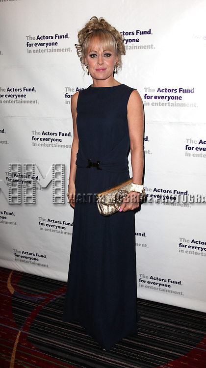 Tracie Bennett.attending the Actors Fund Gala honoring Harry Belafonte, Jerry Stiller, Anne Meara & David Steiner at the Mariott Marquis Hotel in New York City on 5/21/12
