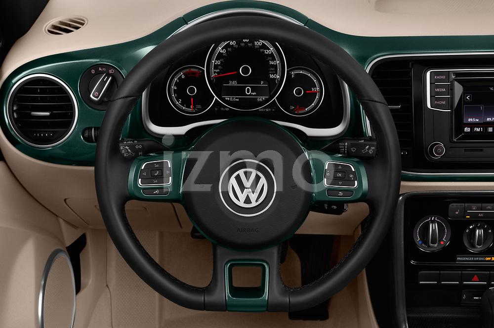 Car pictures of steering wheel view of a 2017 Volkswagen Beetle S 2 Door Convertible Steering Wheel