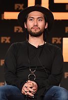 """PASADENA, CA - JANUARY 9: Cast members Jin Ha attends the panel for """"Devs"""" during the FX Networks presentation at the 2020 TCA Winter Press Tour at the Langham Huntington on January 9, 2020 in Pasadena, California. (Photo by Frank Micelotta/FX Networks/PictureGroup)"""