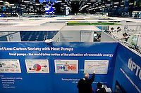 Exhibitions in Forum exhibition Hall, the site of the Bright Green Conference. United Nations Climate Change Conference (COP15) was held at Bella Center in Copenhagen from the 7th to the 18th of December, 2009. A great deal of groups tried to voice their opinion and promote their cause in various ways. The conference and demonstrations was covered by thousands of photographers and journalists from all over the world...©Fredrik Naumann/Felix Features.