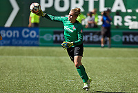 Portland, OR - Saturday September 02, 2017: DiDi Haracic during a regular season National Women's Soccer League (NWSL) match between the Portland Thorns FC and the Washington Spirit at Providence Park.