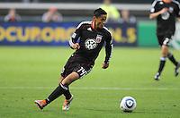 D.C. United midfielder Andy Najar (14)  File photo RFK stadium 2011 season.