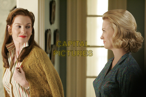 DARBY STANCHFIELD, JANUARY JONES<br /> in Mad Men (Season 1)<br /> *Filmstill - Editorial Use Only*<br /> CAP/FB<br /> Image supplied by Capital Pictures