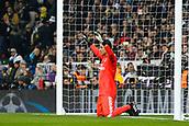 6th December 2017, Santiago Bernabeu, Madrid, Spain; UEFA Champions League football, Real Madrid versus Dortmund; Keylor Navas Gamboa (1) Real Madrid