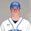 Nick Burke of North Babylon poses for a portrait during Newsday's varsity baseball season preview photo shoot at company headquarters in Melville on Thursday, March 22, 2018.