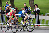 Cycling: 7th Grand Prix Cycliste de Montreal 2016. Number 37, Jasha Sutterlin of Germany for Movistar Team  and  Tomasz Marczynsky of Poland for Lotto Soudal . Sunday September 11 2016, Montreal Qc.