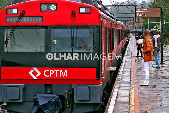 Transporte ferroviário urbano. São Paulo. 2017. Foto de Juca Martins.