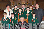 Scartaglen NS pupils that was confirmed in St Stephen and John's church Castleisland on Thursday by Bishop Bill Murphy