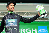 8th September 2017, Newmarket, England; OVO Energy Tour of Britain Cycling; Stage 6, Newmarket to Aldeburgh; Jacob SCOTT (GBR) wins the Skoda King of the Mountains jersey