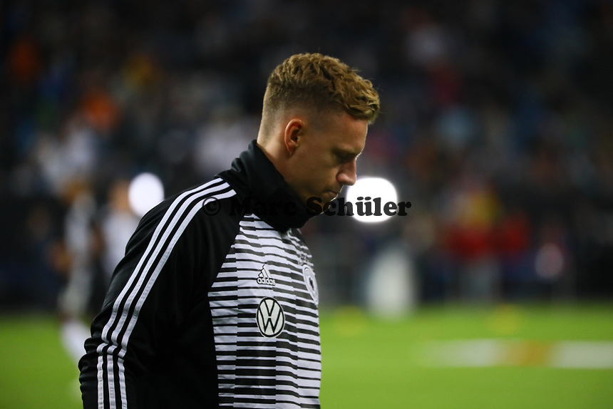 Torwart Bernd Leno (Deutschland Germany) - 06.09.2019: Deutschland vs. Niederlande, Volksparkstadion Hamburg, EM-Qualifikation DISCLAIMER: DFB regulations prohibit any use of photographs as image sequences and/or quasi-video.