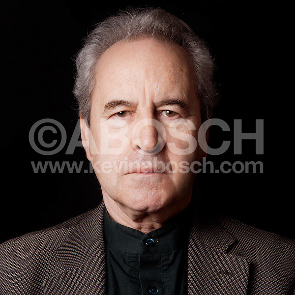 Booker Prize winning author John Banville photographed by Kevin Abosch