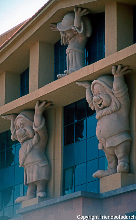 Michael Graves: Detail--Disney Headquarters.  Photo '91.