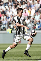 Calcio, Serie A: Juventus vs Crotone. Torino, Juventus Stadium, 21 maggio 2017.<br /> Juventus&rsquo; Paulo Dybala in action during the Italian Serie A football match between Juventus and Crotone at Turin's Juventus Stadium, 21 May 2017. Juventus defeated Crotone 3-0 to win the sixth consecutive Scudetto.<br /> UPDATE IMAGES PRESS/Isabella Bonotto