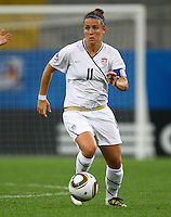 USA's Christine Nairn during the FIFA U20 Women's World Cup at the Rudolf Harbig Stadium in Dresden, Germany on July 17th, 2010.