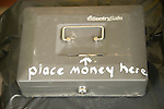 Self serve cash box.